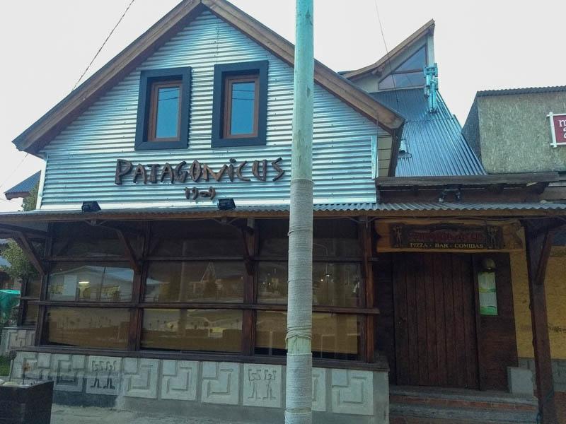 Exterior restaurante Patagonicus