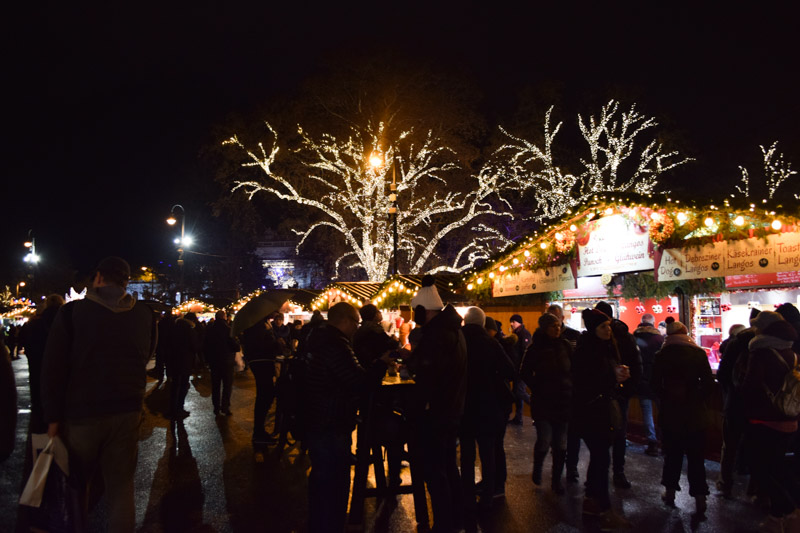 Mercadillo navidad Schonbrunn Viena