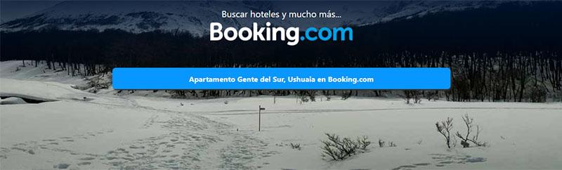 Reservar hotel en Ushuaia, apartamento Gente del Sur