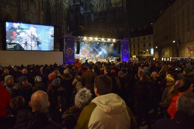 Silvesterpfad en Stephansplatz
