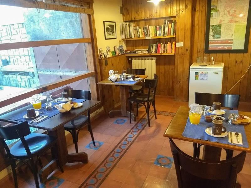 Zonas comunes hotel Patagonicus El Chalten