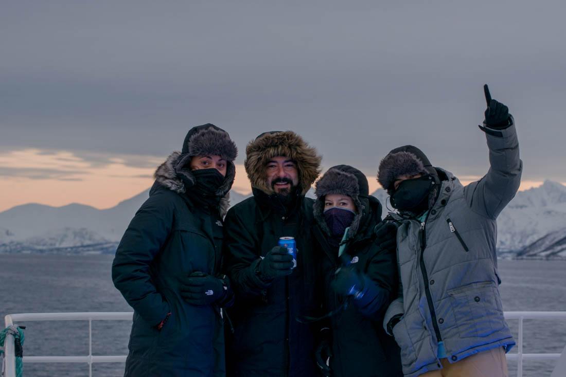 excursión con Arctic Expedition