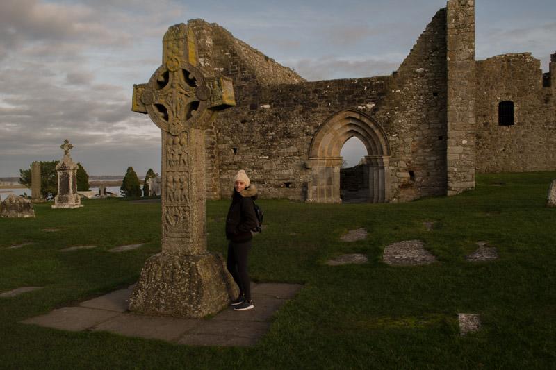 Cruz de las Escrituras Clonmacnoise