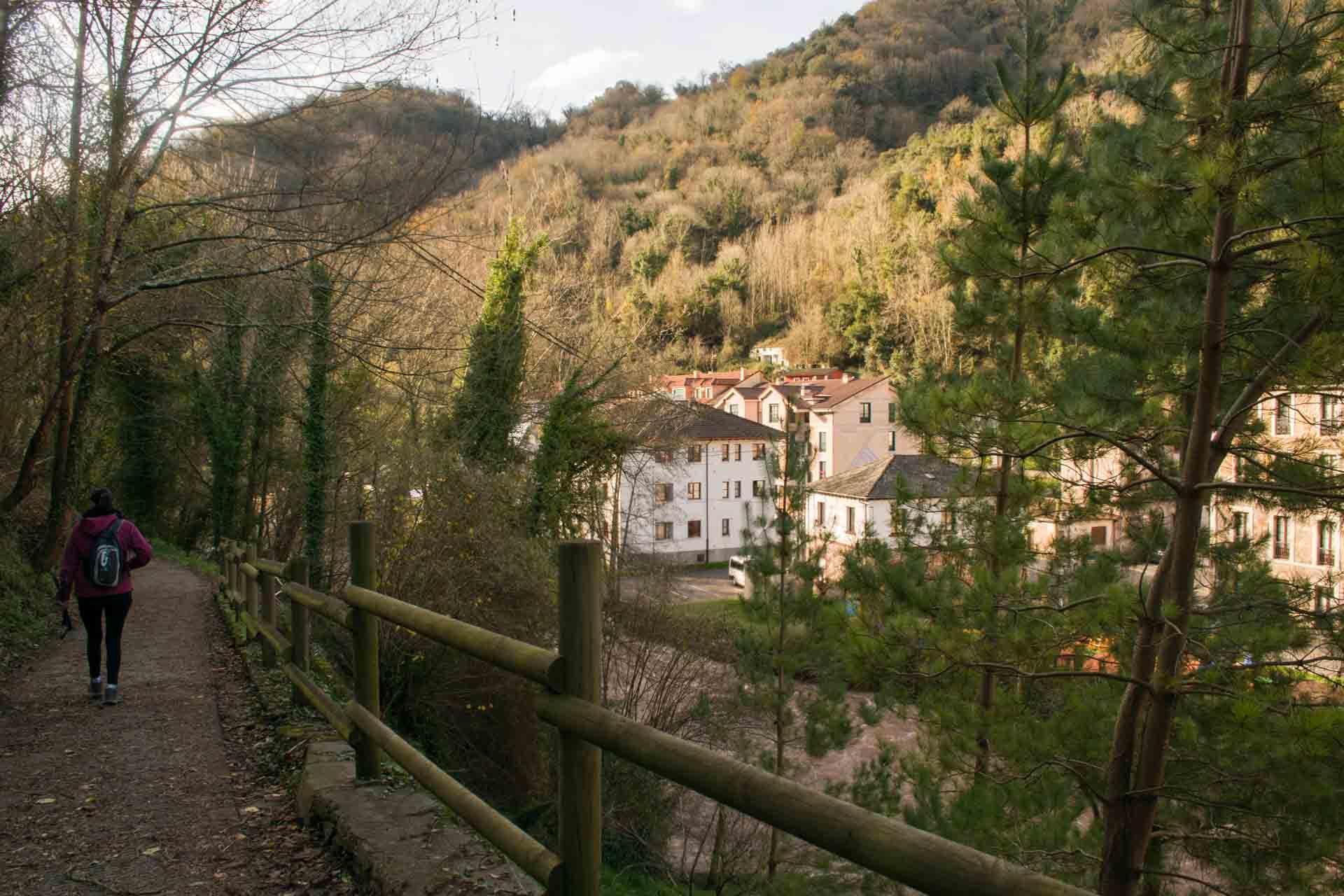 Ruta por el bosque Belmonte de Miranda