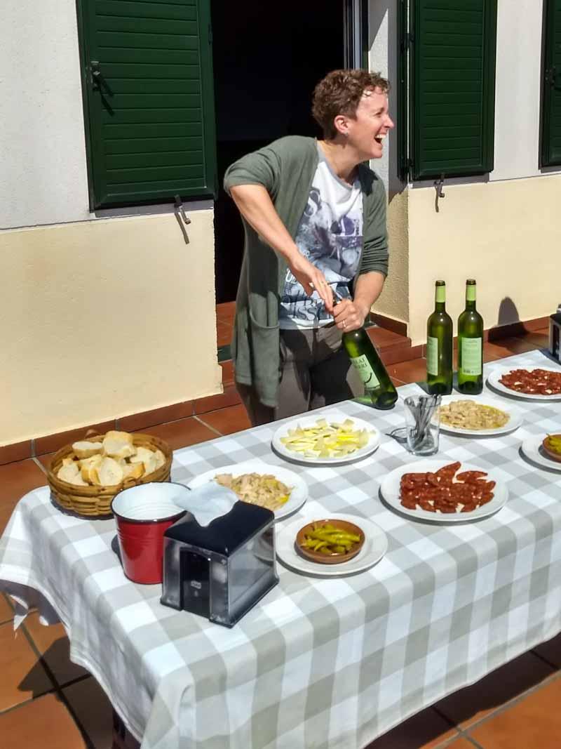 Visita bodega Talai Berri en Zarautz