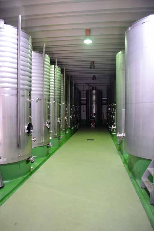 depositos fermentacion vino txakoli