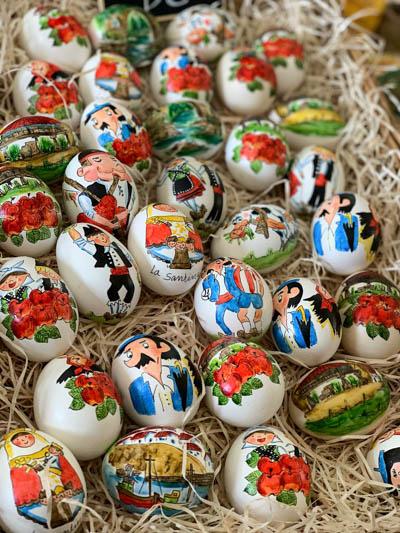Huevos Pintos en Pola de Siero