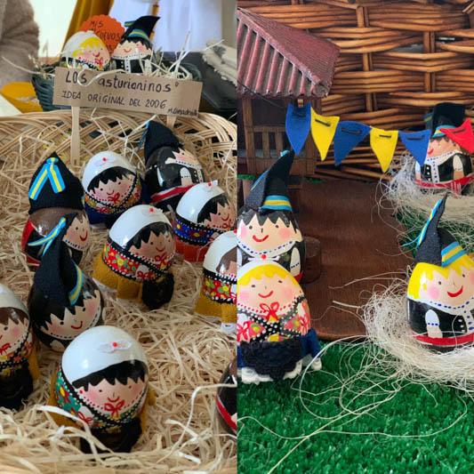 Martes de Huevos Pintos.