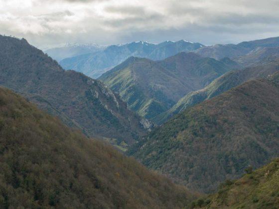 Panoramicas ruta La Castañal en Belmonte Miranda
