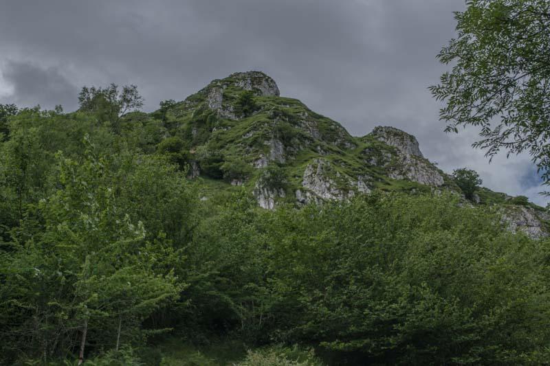 Sierra de Peñamayor en Nava