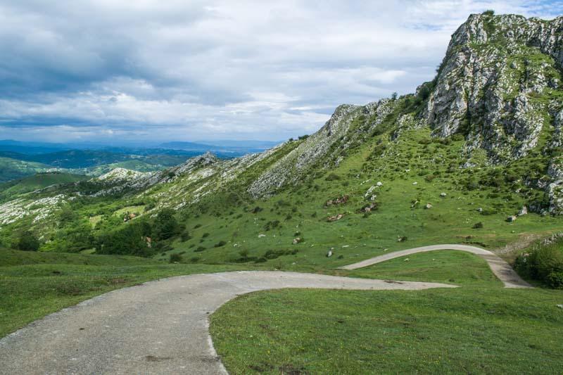 Sierra de Peña Mayor en Asturias