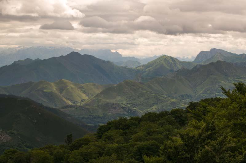 Picos de Europa en Asturias.