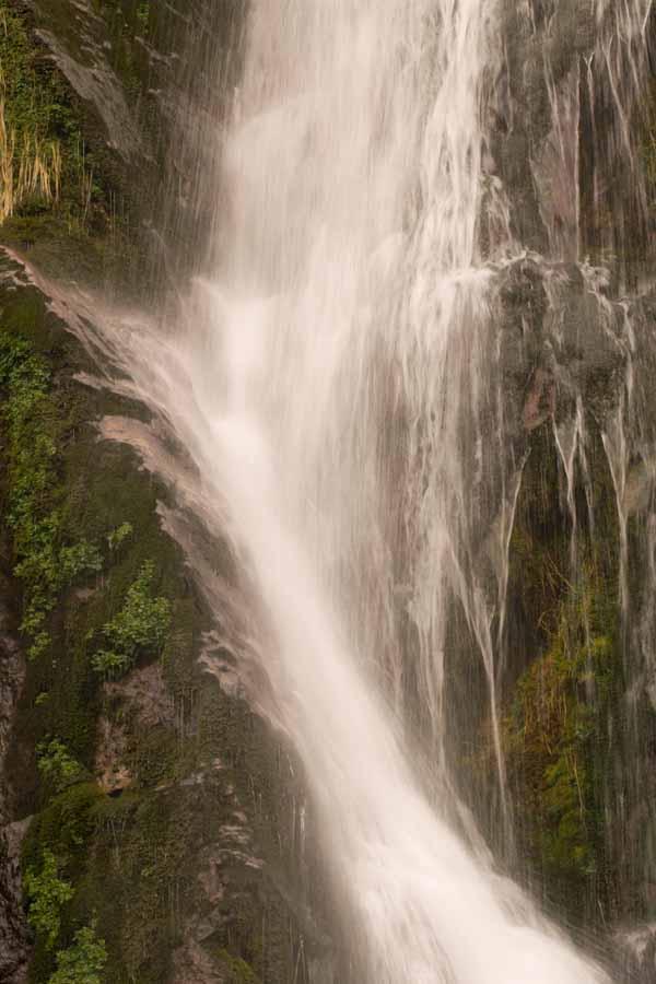 Zona media cascada Tabayon Mongayu