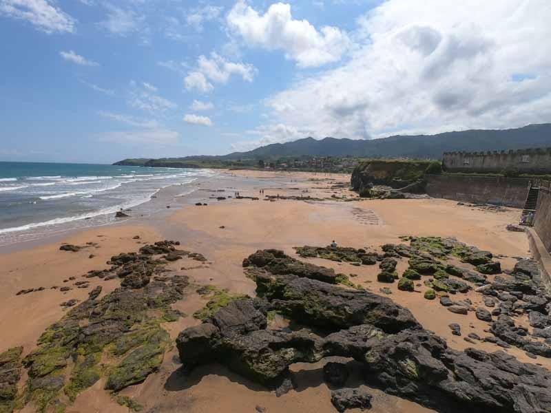 Acceso a playa de La Espasa desde La Isla