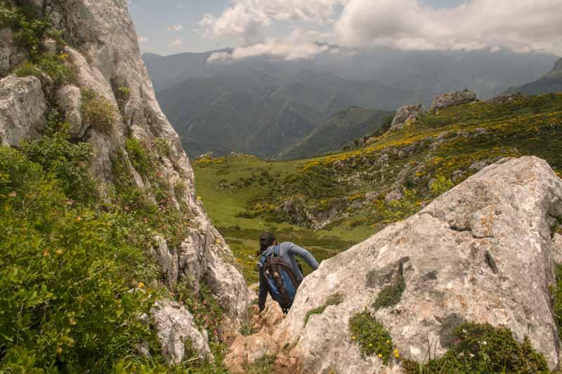Pico Tiartos en Asturias