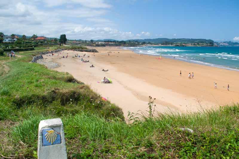 Playa de Moracey y la Espasa en Asturias
