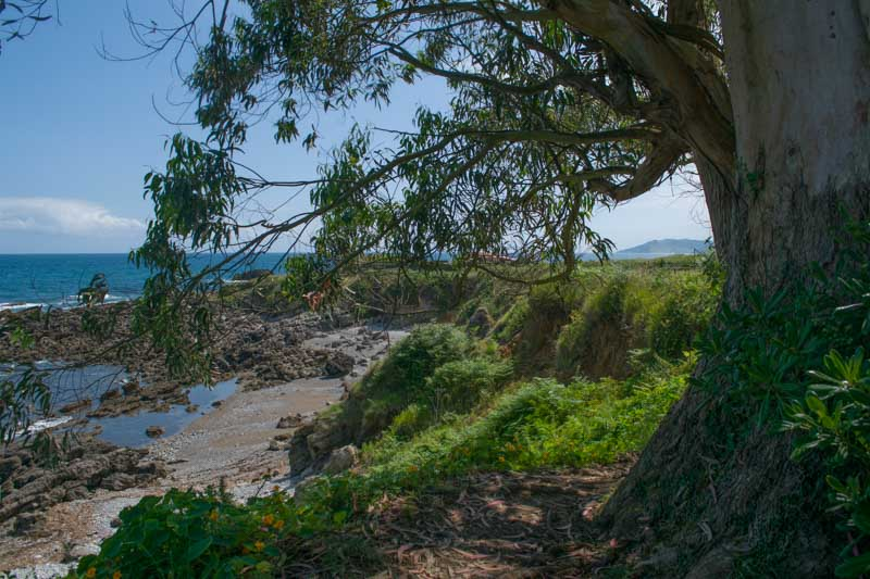 Playa de la Huelga en La Isla Asturias