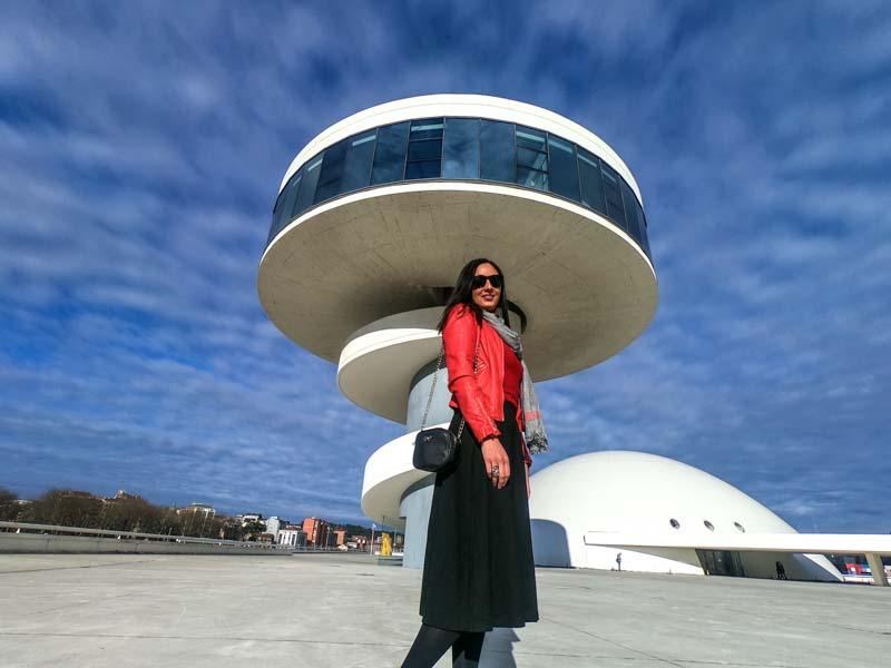 Centro Niemeyer en Avilés.