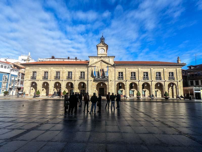 Visitar Ayuntamiento de Avilés