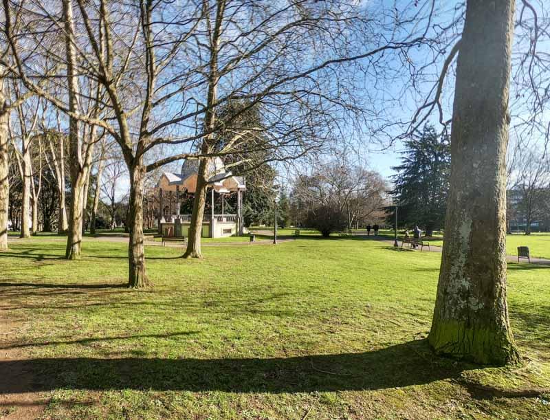 Parque de Ferrera en Avilés
