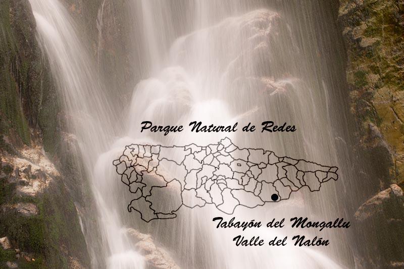 Donde está el Tabayón de Mongallu en el mapa de Asturias