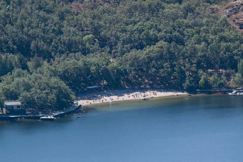 Lago de Sanabria playa Viqueira