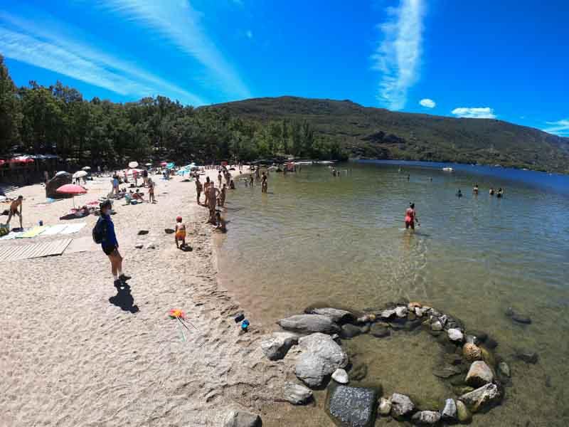 Playa Viqueira lago de Sanabria