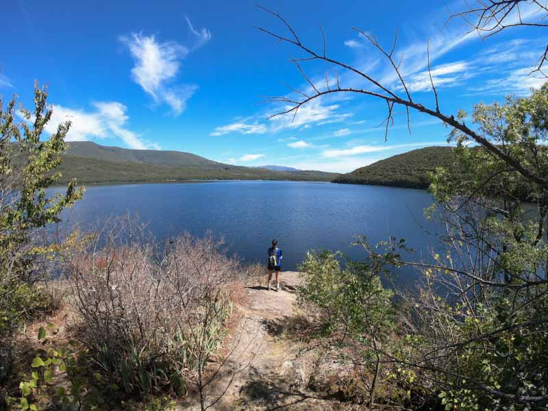 Ruta de los monjes en lago de Sanabria en Zamora
