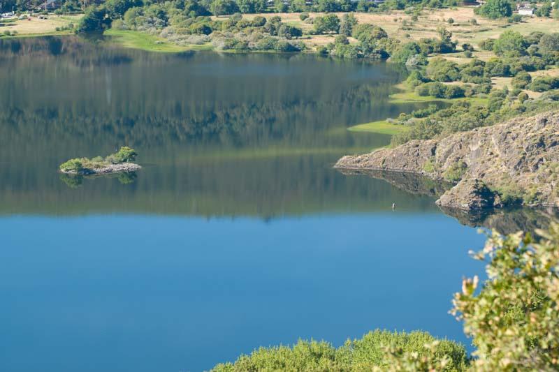 Margen del lago de Sanabria en Zamora