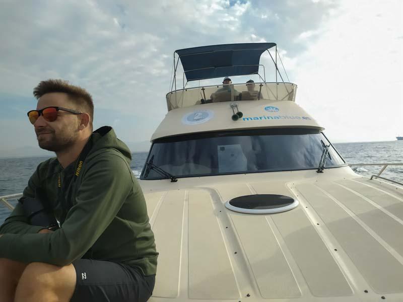 Avistamiento de ballenas y delfines en El Estrecho Cádiz