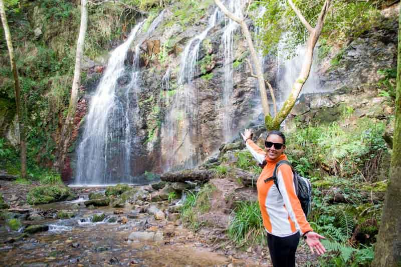 Cascada de Guanga rutas en Oviedo