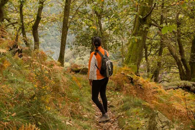 Cascadas de Buanga rutas en Asturias