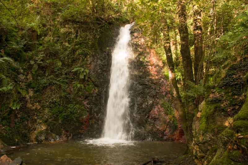 Cascadas de Guanga en Asturias