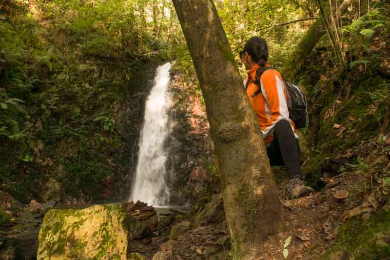 Cascadas en Asturias Guanga