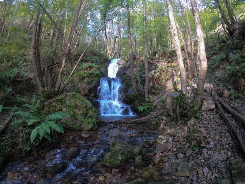 Cascada Guanga en Oviedo