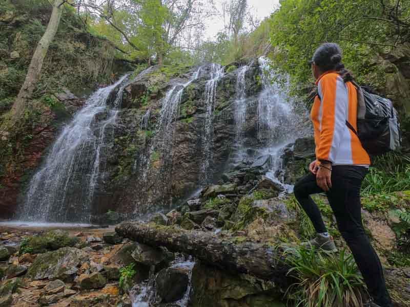 Guanga cascada en Trubia