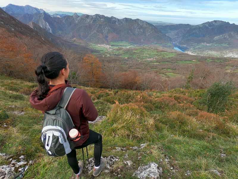 Subida al pico Cuyargallos, Campiellos.