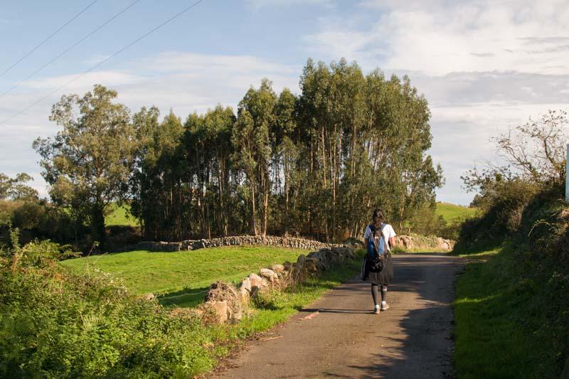Ruta del Azabache a Tazones