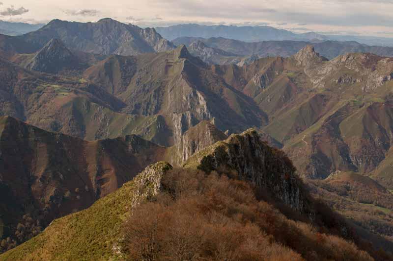 Rutas en el Parque de Redes Asturias