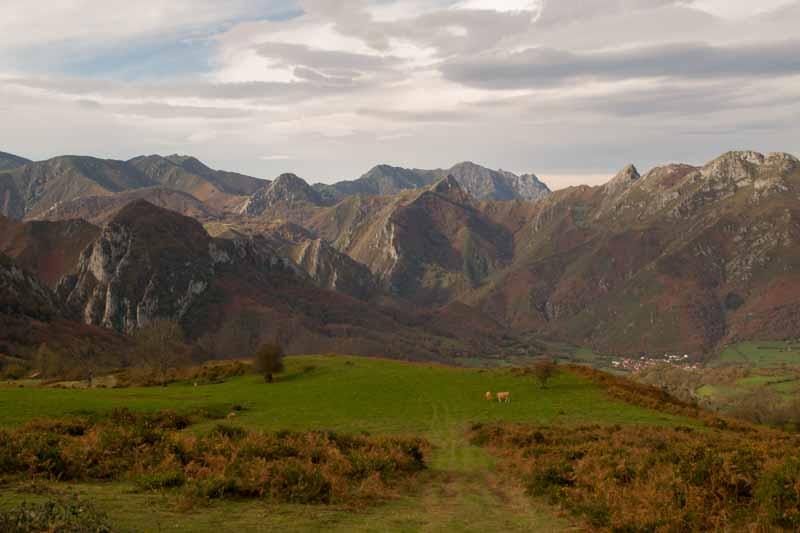 Sierra del Crespón Asturias