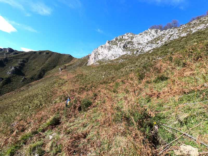 Subida al Cuyargallos, rutas en Asturias