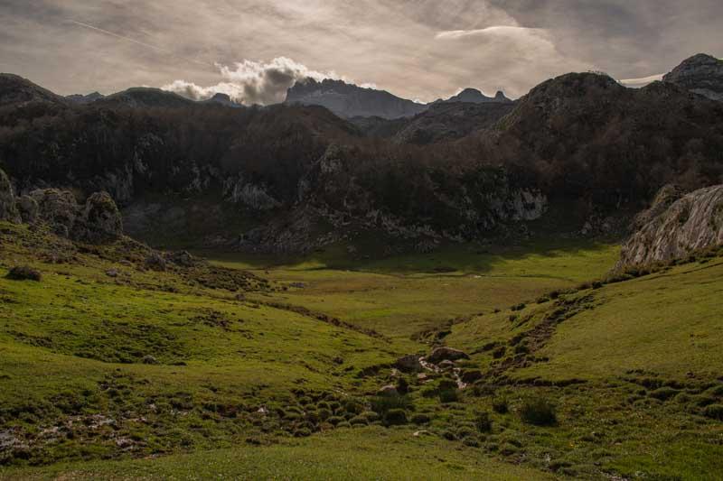 Lago Bricial en Picos de Europa