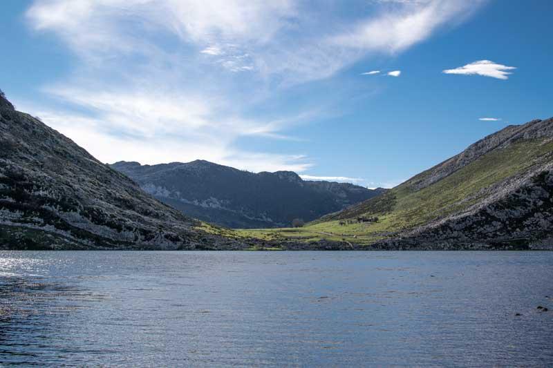 Lago Enol y lago Ercina