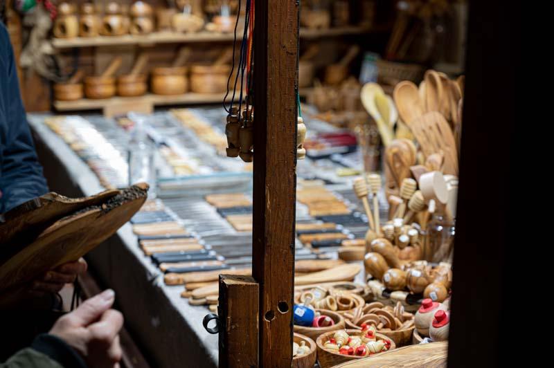 Mercado de artesania en Oviedo