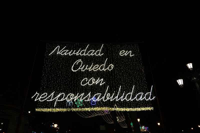 Navidad en Oviedo con responsabilidad