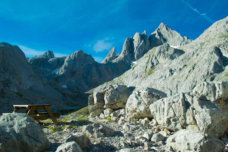Pico Cabrones desde Jou de los Cabrones Picos de Europa