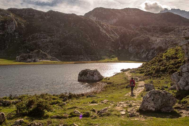Rutas en los lagos de Covadonga
