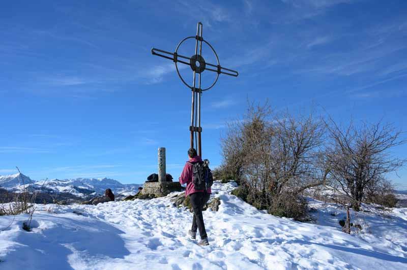 Cruz de Priena en Covadonga