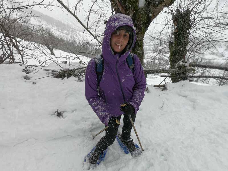 Excursiones en Asturias raquetas de nieve