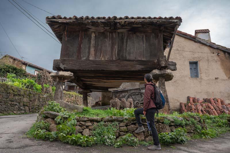 Horreos en Asturias concejo Aller